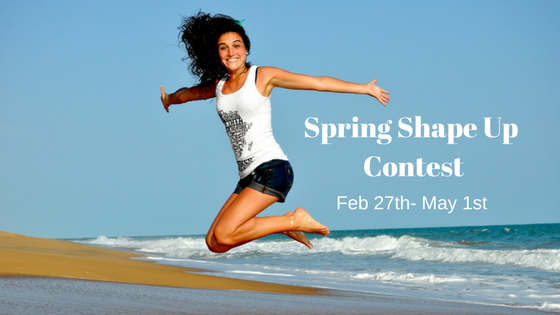 Spring shape up contest